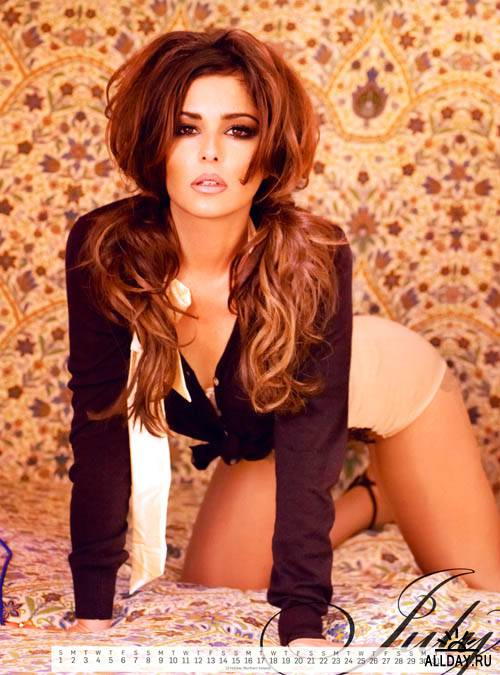 Cheryl Cole - Official Calendar 2012
