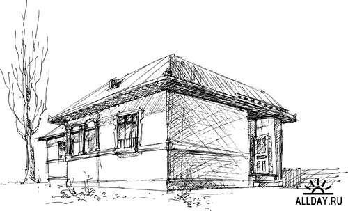 Architecture  | Архитектура - элементы для коллажей