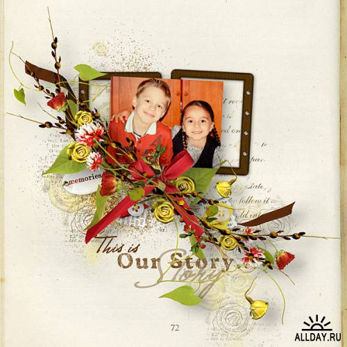 Scrap kit   Tell your Story