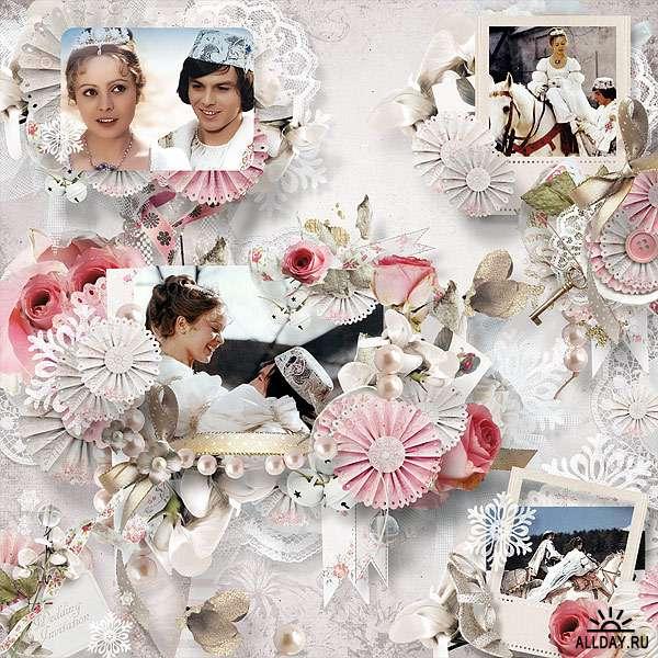 Scrap set - Winter wedding