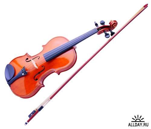 Музыкальные инструменты, скрипка, рояль, гитара
