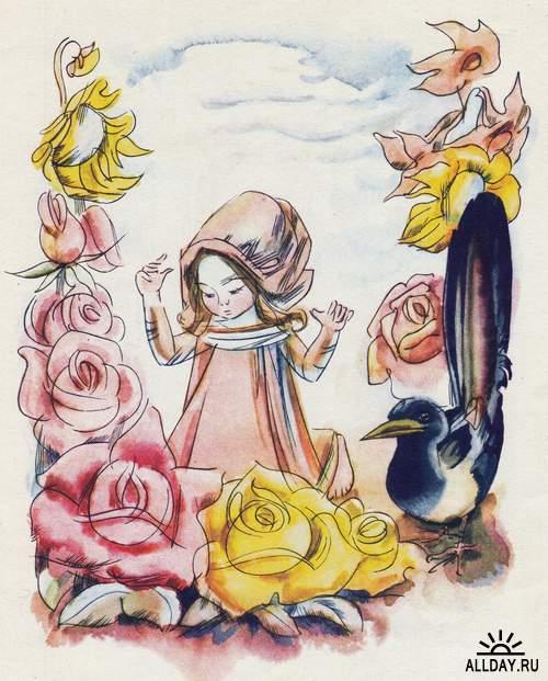 Сказочные иллюстрации - иллюстратор Элеонора Ивановна Левандовская