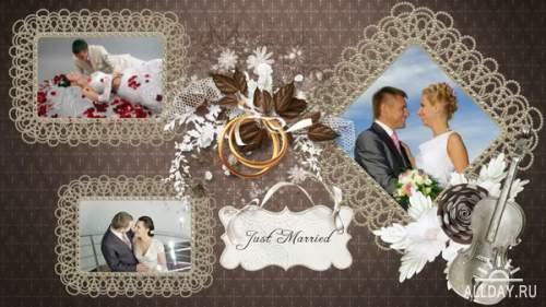 свадьба в коричневых тонах - project для ProShow Producer®