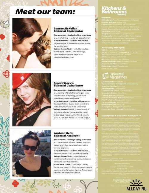 Kitchens & Bathrooms Quarterly №10 (октябрь 2011) / AU