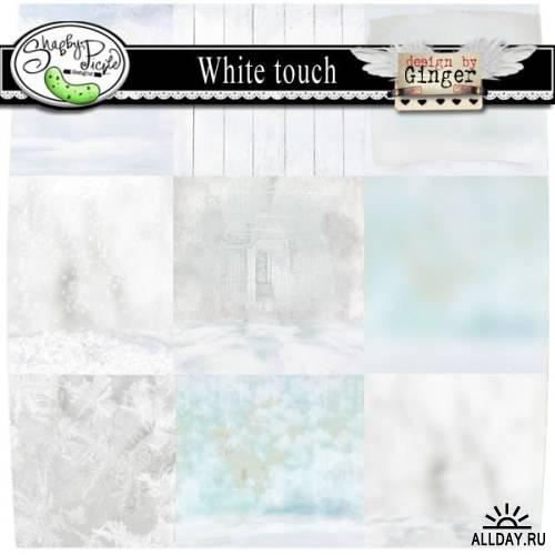 Скрап-набор - White Touch