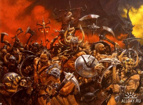 Warhammer Art Gallery