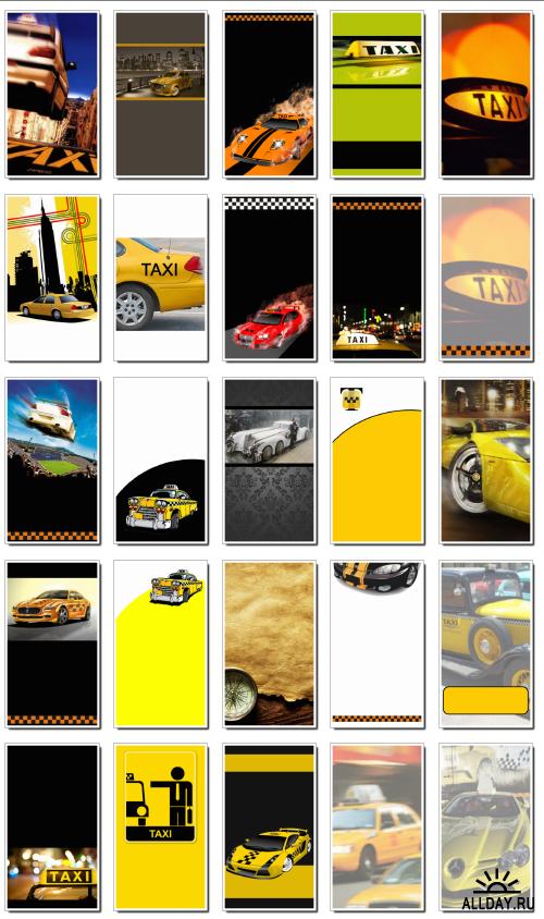 Фоны для визиток: такси (часть 2). 29  JPEG