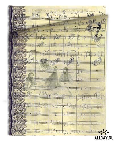 Клипарт – Berlioz Symphonie Fantastique