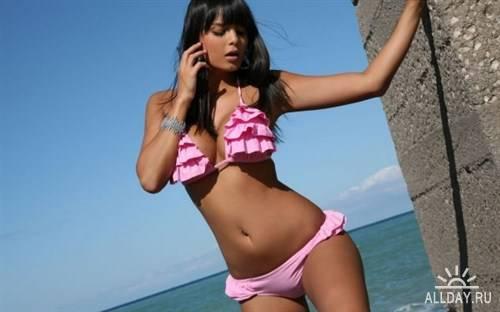 фото красавиц на пляже