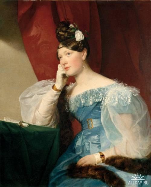 Австрийский художник Friedrich von Amerling (1803–1887)