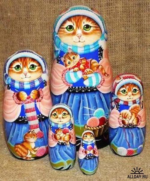 Куклы - кошки