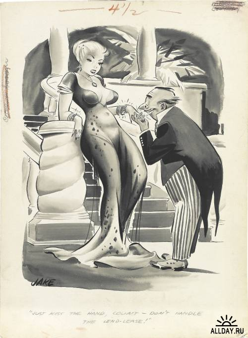 Jack Cole. Playboy Cartoons