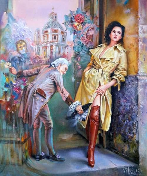 Работы белорусского художника Witali Zuk