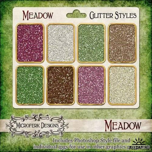 Скрап-набор - Meadow
