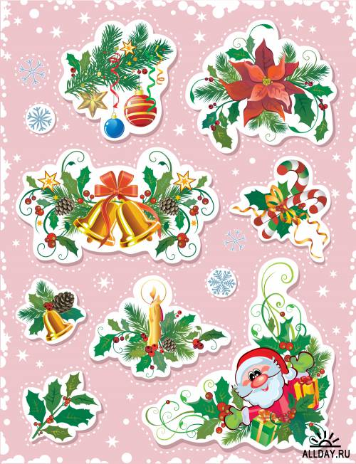 Decorative Christmas elements