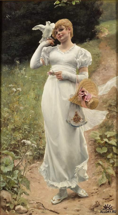 Чешский художник Alfred Seifert (1850 - 1901)