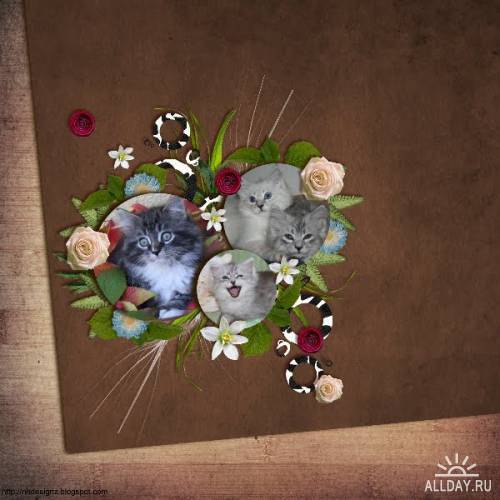 Скрап-набор Milkyway Sweetness