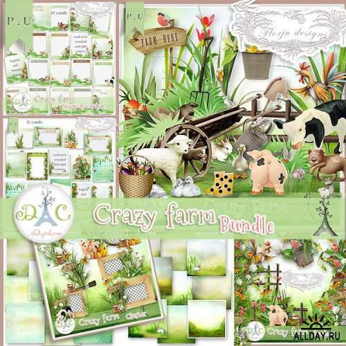 Скрап-набор Crazy Farm