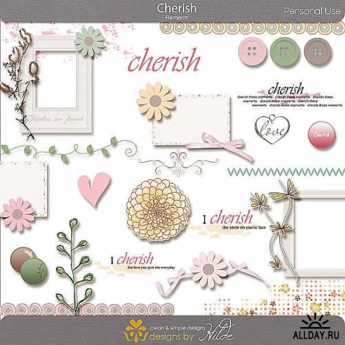 Scrap kit - Cherish