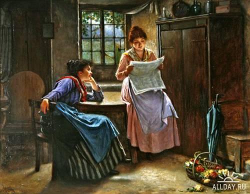 Английский художник Haynes King (1831-1904)