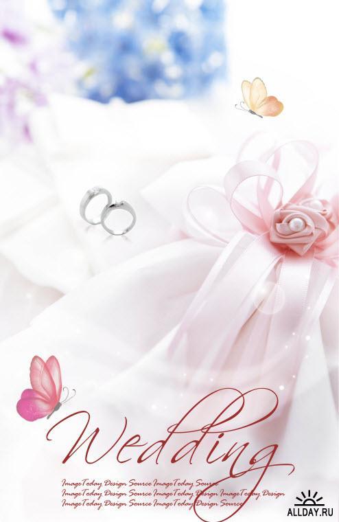 Свадебные PSD 6 \ Wedding PSD 6