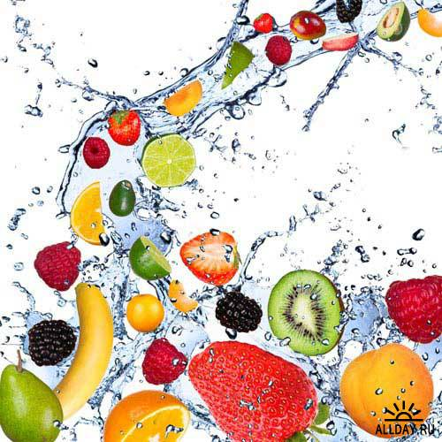 Свежие фрукты в воде | Fresh fruits in water