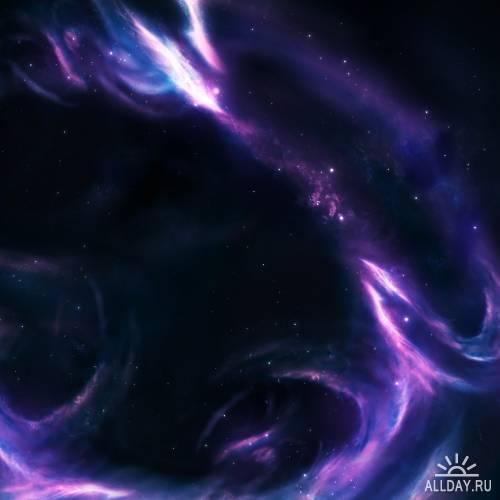 Nebula - фоны далёких галактик