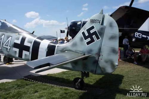 Немецкий истребитель FW-190A-9