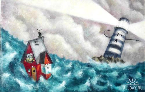 Иллюстрации к детским книгам от LEE WHITE