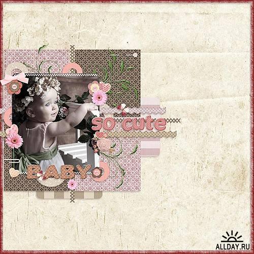 Скрап-набор – Pink Romantic