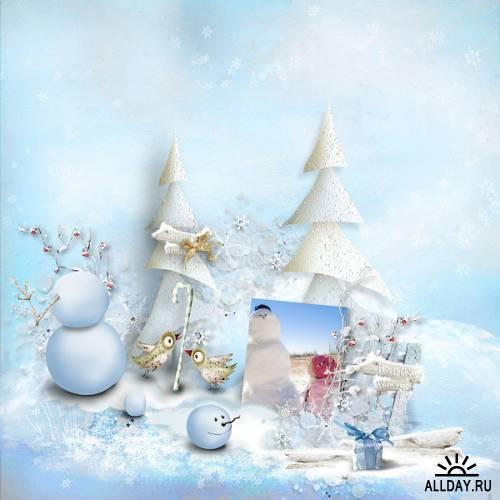 Scrap kit  Winter Frost