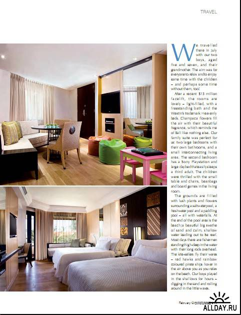 Expat Living - February 2012/Singapore