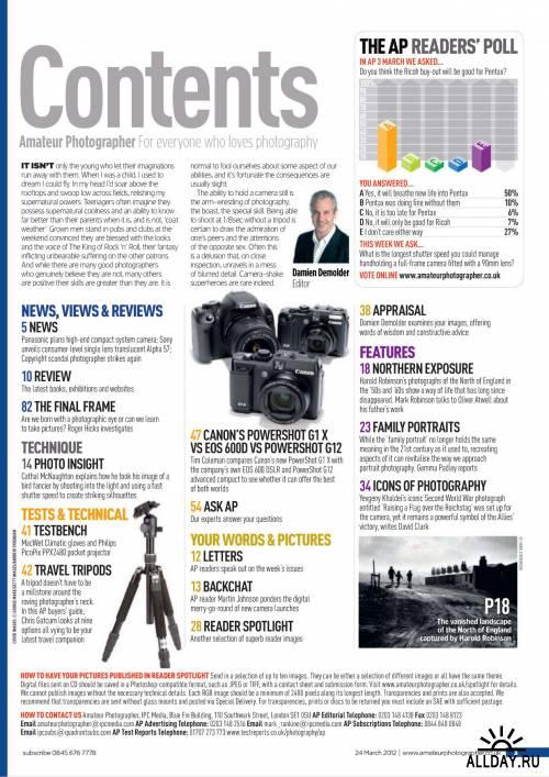 Amateur Photographer (24 марта 2012) / UK