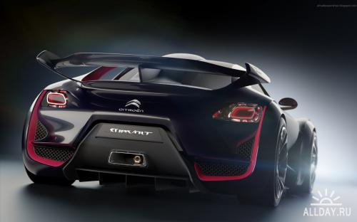 Cool Concept Cars Wallpapers#3 / Обои с крутыми тачками ч.3