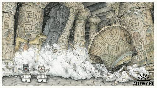 Иллюстратор Timothy Raglin