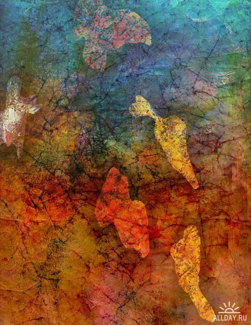 Текстуры - Цветные Масляные Краски. Часть 3