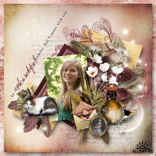 Scrap kit    Letters Of Love In Autumn