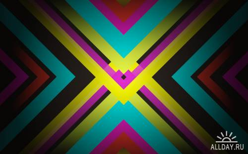 50 Wonderful Colorful Abstract HD Wallpapers (Set 33)