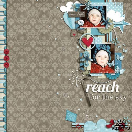 Скрап-набор Reach for the Sky