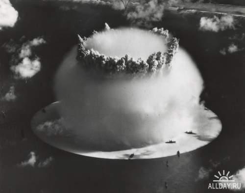 Операция «Crossroads»: фотоснимки испытания атомной бомбы