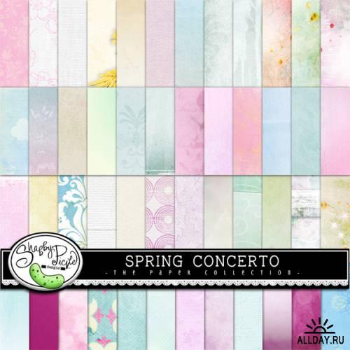 Scrap kit Spring Concerto