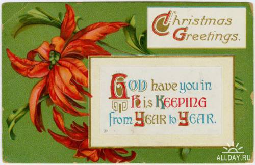 Коллекция открыток. Merry Christmas!