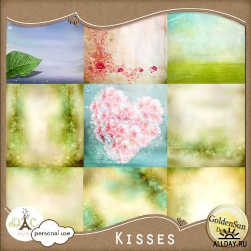 Скрап-набор Kisses