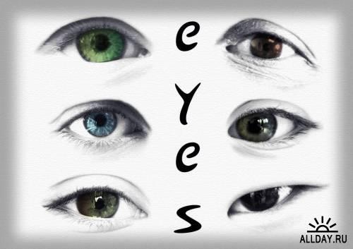Два набора кистей - Глаза и Ресницы / Extreme Lashes! + EyesOnYou Brushes