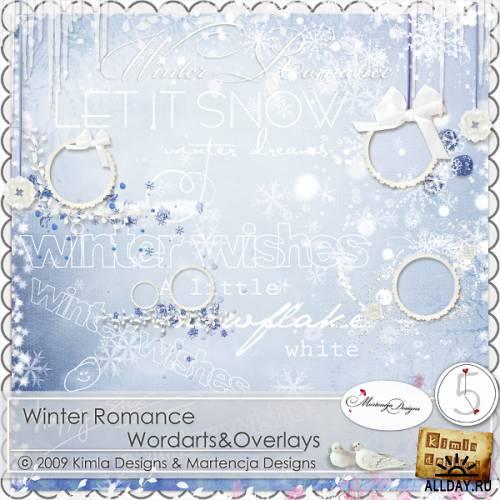 Scrap kit  Winter Romance
