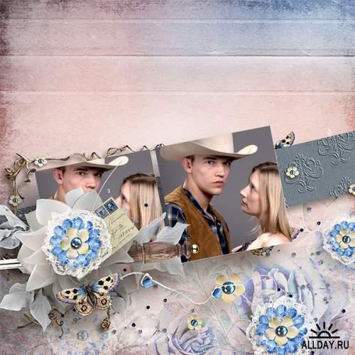 Скрап-набор  Western Wedding