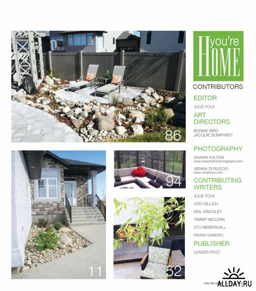 You're Home - Spring 2012