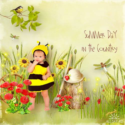 Scrap kit Country Summer