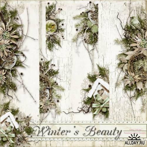 Скрап-набор Winter's Beauty