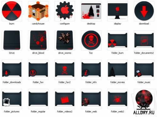 Devil's System Icons